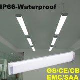 1FT IP66 nenhuma luz linear impermeável do diodo emissor de luz da cintilação com Ce