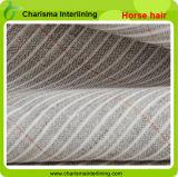 Оптовые волосы лошади ткани Interlining для костюмов/холстины
