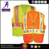 Померанцовые отражательные одежды безопасности