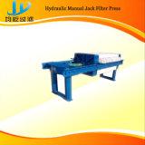 Máquina pequena da imprensa de filtro com as placas automatizadas comprimidas e secagem eficiente