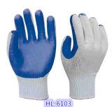 Cut Resistance Nitrile Palm Coating Luva