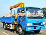 ¡Venta caliente! FAW 10 toneladas del carro de carro Self-Loading de la grúa (CA1256)