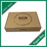 ロゴの印刷の卸売が付いているブラウンクラフト紙ボックス