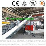 Lavatrice di plastica per il riciclaggio residuo della plastica (tessuto non tessuto dei pp)