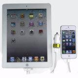 RtR18二重USBポートが付いているすべての携帯電話のための新しい12V電気自動車の充電器2400mAh