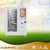 Lunchroom Box Fast Food Vending Machine com sistema de resfriamento Configuração de suporte Pagamento de moedas e contas