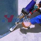 Soldador del plástico del arma de la soldadura del estirador de la junta de la soldadura del tubo del HDPE