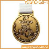 記念品のギフト(YB-MD-40)のためのカスタムロゴの金メダル
