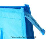Хозяйственная сумка сини Non сплетенная с печатание