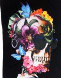 출력 t-셔츠 로고 큰 크기 가득 차있는 격판덮개 인쇄