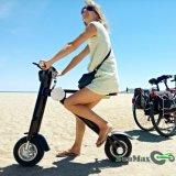 Route urbaine 2017 de la CE pliant la bicyclette électrique