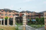 Rete fissa d'acciaio galvanizzata obbligazione residenziale industriale nera elegante 16 di Haohan