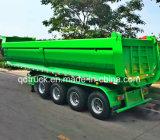 3개의 차축 액압 실린더 덤프 트레일러, 후방 쓰레기꾼 트럭 트레일러