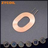 Bobina de inducción de cobre de aire de Bobbinless del alambre del imán del esmalte