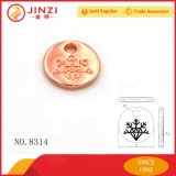 Verzierte kleine Fall-Marken-Metallfirmenzeichen-Marke für Schmucksachen