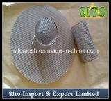 Filtro de engranzamento perfurado do aço inoxidável 304