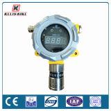 Detetor de gás fixo do sistema do monitor da concentração de gás do transmissor de dados de RS485/4-20mA