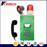Allgemeines Bordbodentelefon des Bank-Telefon-Knzd-05 Koontech mit LCD-Bildschirmanzeige