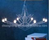 창조적인 개성 디자인 철 예술 현탁액 LED 에펠 탑 샹들리에