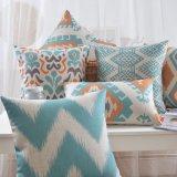 Cuscini rossi di tela del cotone di lusso per il salotto e la sede