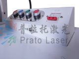 Machine d'inscription de laser de fibre de prix coûtant pour l'acier inoxydable argenté