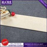 Precio barato 250&times de la fábrica de China; 750 cuarto de baño y azulejo de cerámica de la pared del azulejo de la pared de la cocina