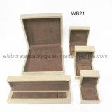 Коробка Handmade лоснистых ювелирных изделий картины деревянных установленная