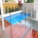 vetro Tempered libero di 12mm per la barriera di sicurezza della piscina
