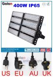 China Supplier 5 Yeas Garantia à prova d'água 100-277V EU Us Au UK 400W Outdoor LED Flood Light com Plug
