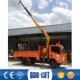 픽업 판매를 위한 2 톤 트럭에 의하여 거치되는 기중기