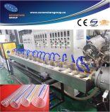 Il filo di acciaio del PVC ha aumentato la linea di produzione del tubo
