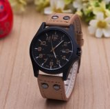 Het Horloge van de Manier van de Vrouwen van het Polshorloge van het Leer van het Horloge van de Man van het Merk van de manier