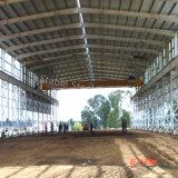 Edificio prefabricado del taller de la estructura de acero del Multi-Suelo para la venta
