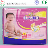 Tecido elevado descartável do bebê do OEM do absorvente 2017 com preço de fábrica