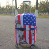 Втулка багажа Spandex крышек изготовленный на заказ чемодана печатание защищая