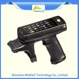 De duurzame Handbediende Mobiele Terminal van de Computer PDA met GPS Bluetooth WiFi de Lezer van de Streepjescode RFID