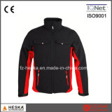 Куртка 100% Softshell передачи тепла Mens куртки Twill полиэфира оптовой продажи