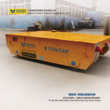 Carrello d'acciaio di trasporto ferroviario del vagone di trasferimento della rotella nell'industria di costruzione navale
