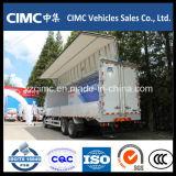 Caminhão do corpo da asa de Isuzu Qingling Vc46 6X4