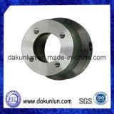 Partie usinée par commande numérique par ordinateur avec l'acier inoxydable/aluminium/laiton