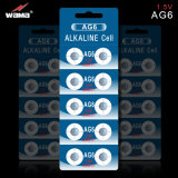 Célula del acumulador alcalino de AG6/Lr921/371A