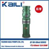 4 'Outlet QY Bomba submersível cheia de óleo Bomba de água limpa (único estágio)