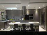 De Keukenkast van de Melamine van de Kleur van de koffie van Hangzhou