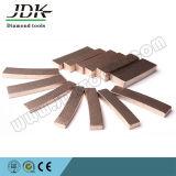 Tipo segmento do ventilador do JDK do diamante para a estaca de mármore
