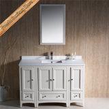 Шкаф ванны раковины тщеты ванной комнаты твердой древесины Espresso Fed-1066b одиночный