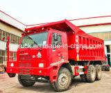 2016 nuovo autocarro a cassone di estrazione mineraria di Sinotruk HOWO 6X4 371HP 60ton