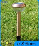 Indicatore luminoso solare del palo dell'acciaio inossidabile di stile di Hud del fiore nel rivestimento Bronze