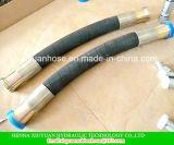 Gewundenes Hochdrucköl-flexibler hydraulischer Gummischlauch mit 602-3b