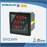Voltmètre d'affichage numérique de paramètres de Gv23vh 3