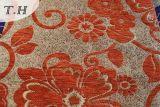 2017 Venta caliente Chenille Flores grandes Jacquard sofá y muebles